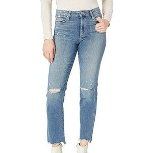 Joe's Jeans Milla High Rise Straight Ankle Jeans